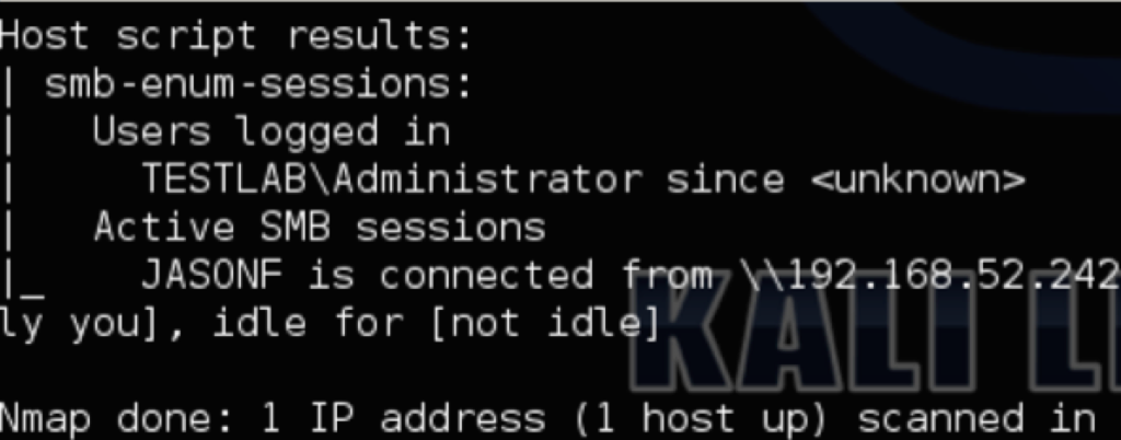 nmap.sessions