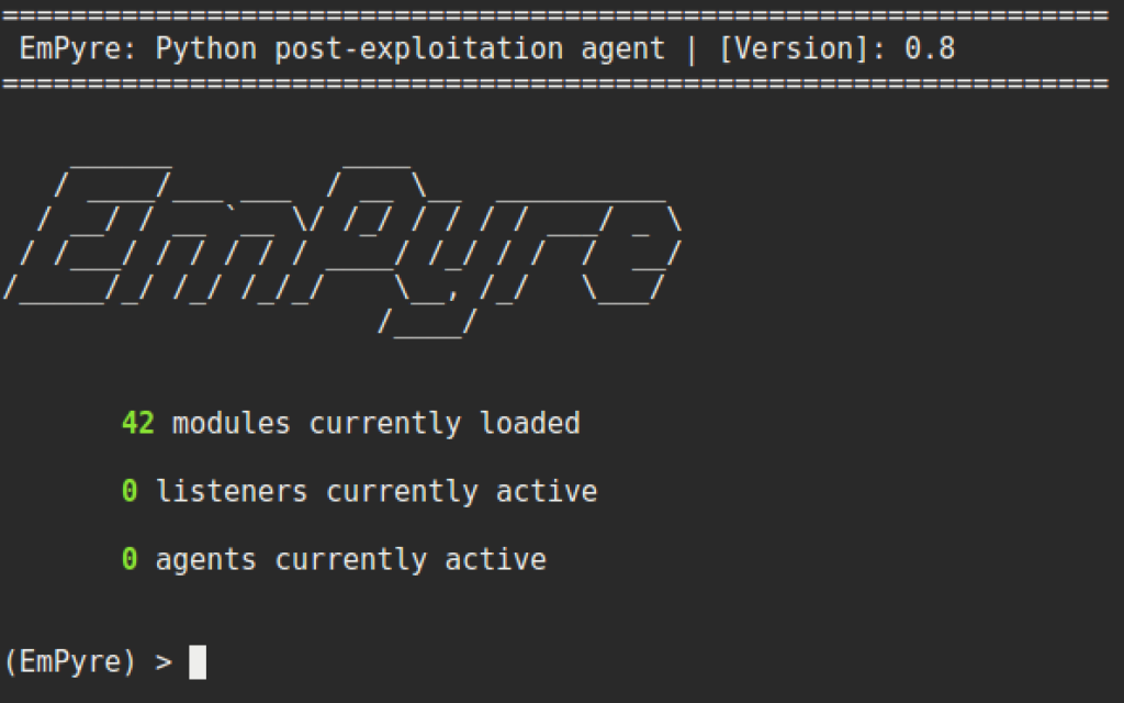 Building an EmPyre with Python – harmj0y
