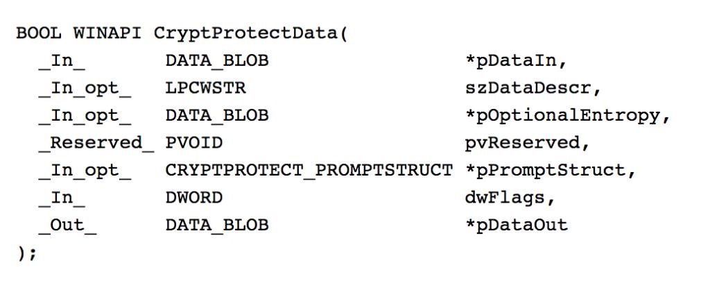 Offensive Encrypted Data Storage (DPAPI edition) – harmj0y